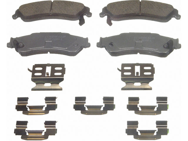 Rear Brake Pad Set Y915yz For Blazer S10 2001 2002 2000