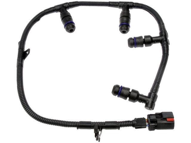 Left Diesel Glow Plug Wiring Harness K741JD for F250 Super